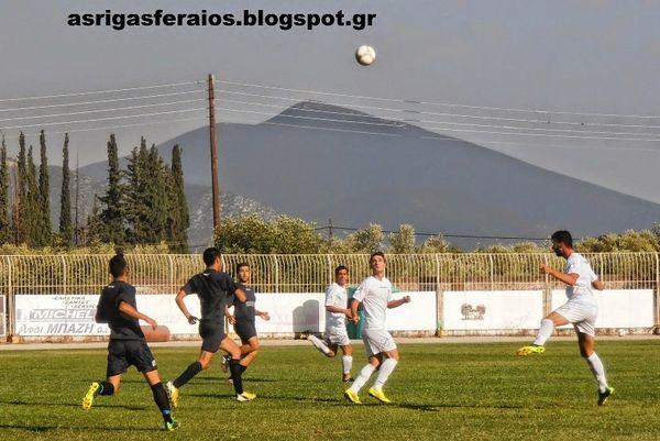 Μακροχώρι-Ρήγας Φεραίος  0-3