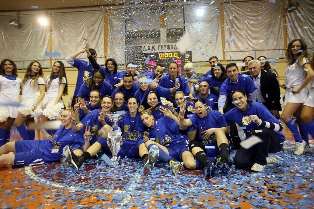 Ελληνικό: Θερμές ευχαριστίες για το Κύπελλο Ελλάδας