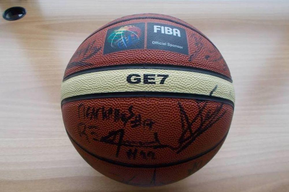 ΧΑΝΘ: Και η μπάλα του «χρυσού» Ευρωμπάσκετ στο μουσείο (photos)
