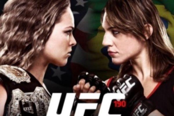 UFC 190: Πρόκληση στη Βραζιλία για Ronda Rousey