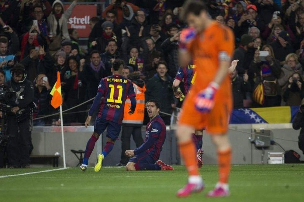 Μπαρτσελόνα – Ρεάλ Μαδρίτης 2-1: Τα γκολ του ντέρμπι (video)