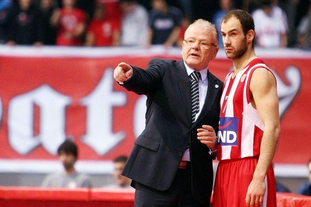 Ολυμπιακός: Τιμάται ο Ίβκοβιτς, θυμάται ο Σπανούλης (video)