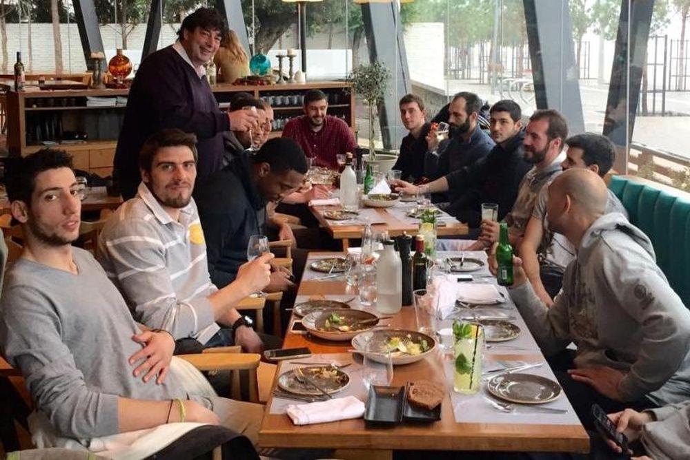 ΠΑΟΚ: Γεύμα με θύμησες Γενεύης (videos+photos)