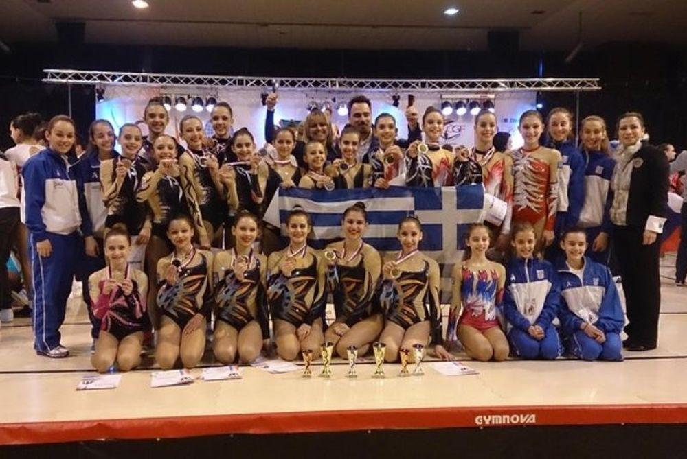 Αεροβική Γυμναστική: Οκτώ ελληνικά μετάλλια στην Τσεχία