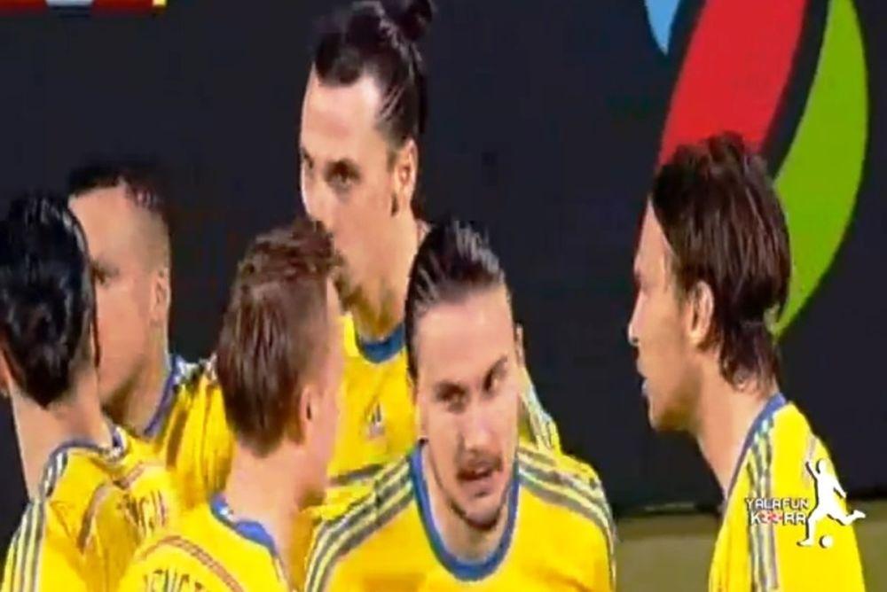 Σουηδία: Μόνο ο Ιμπραΐμοβιτς τέτοιο γκολ! (video)