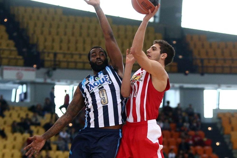 Basket League: Κόροιβος Αμαλιάδας - Ολυμπιακός 70-87 (photos)