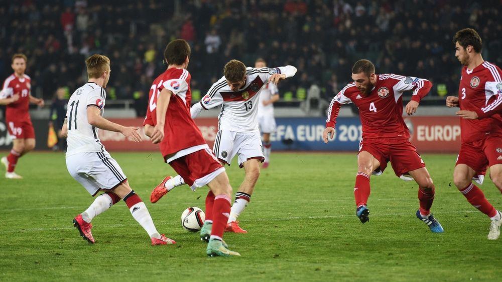 Γεωργία - Γερμανία 0-2 (videos)