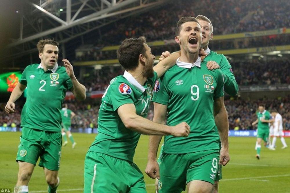 Ο ...χαμός στο γκολ της Ιρλανδίας  (video)
