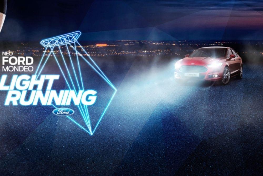 1ο FORD MONDEO Light Running Event: Το νέο Ford Mondeo φωτίζει το δρόμο