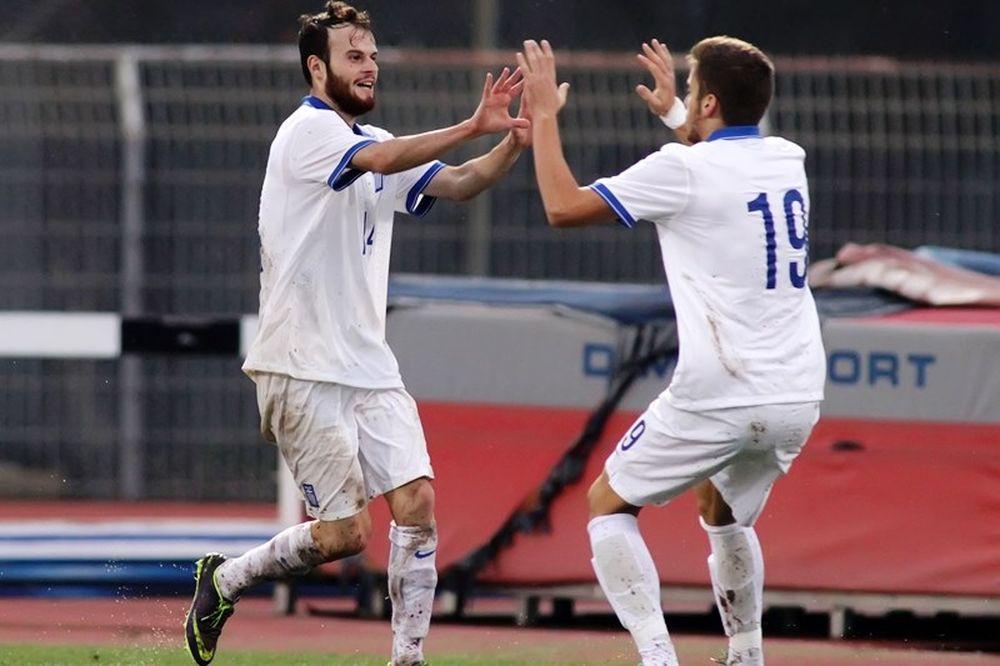 Ελλάδα – Ουκρανία 1-1 (Νέων)