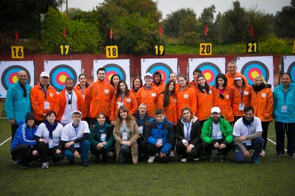 Τοξοβολία: Ρεκόρ εθελοντών στο Ευρωπαϊκό του Μαραθώνα (photos)