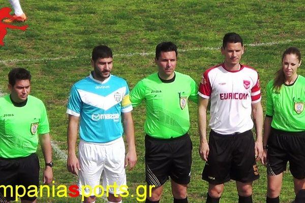 Καμπανιακός-Εθνικός Ν. Αγιονερίου 3-5: Τα γκολ και οι φάσεις του αγώνα (video)