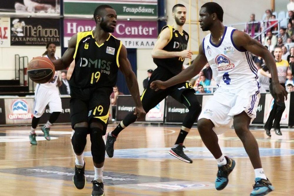 Basket League: Τρίκαλα BC - Άρης 74-81 (photos)