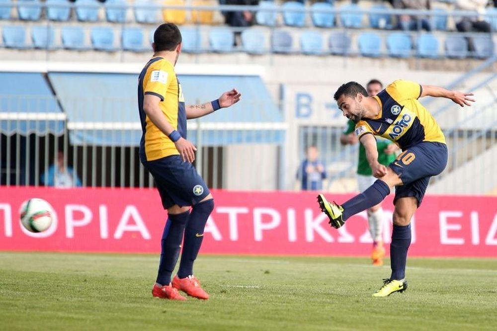 Αστέρας Τρίπολης – Πανθρακικός 2-1: Τα γκολ του αγώνα (video)