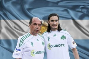 Vamos Vamos Argentina, Vamos Panathinaikos (videos+photos)