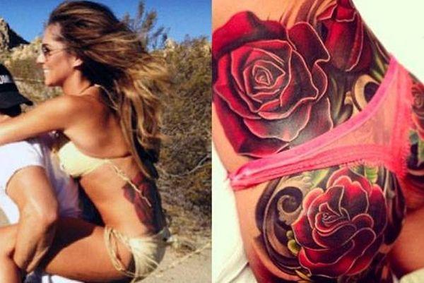 Το τατουάζ της πρώην του Cole στα… οπίσθια!