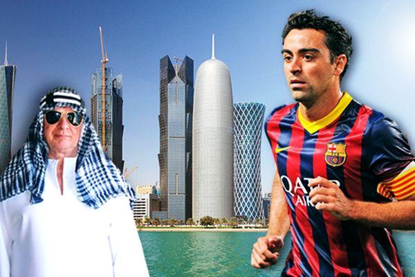 Έφτασε στο Κατάρ ο Τσάβι! (photo)