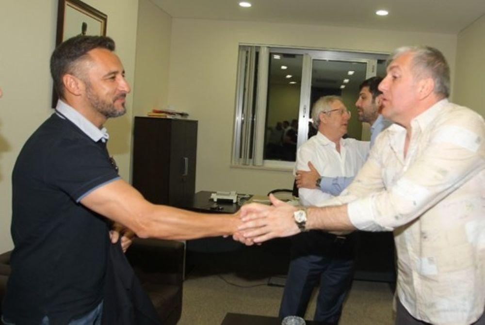 Ο Ομπράντοβιτς υποδέχθηκε τον Περέιρα! (photos)