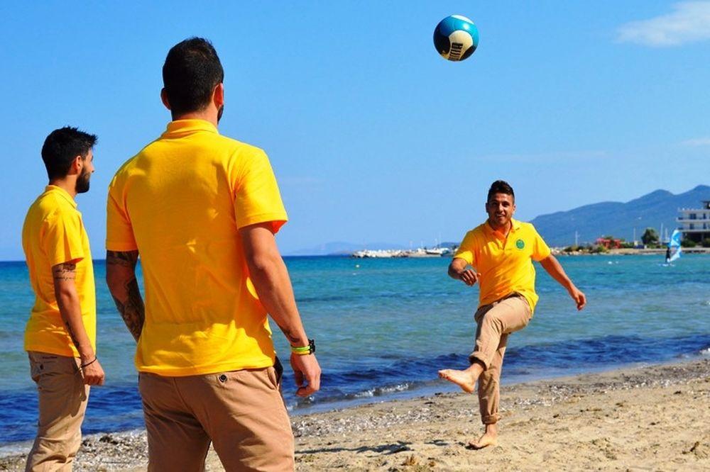 Πήγαν παραλία οι παίκτες της ΑΕΚ (photos)