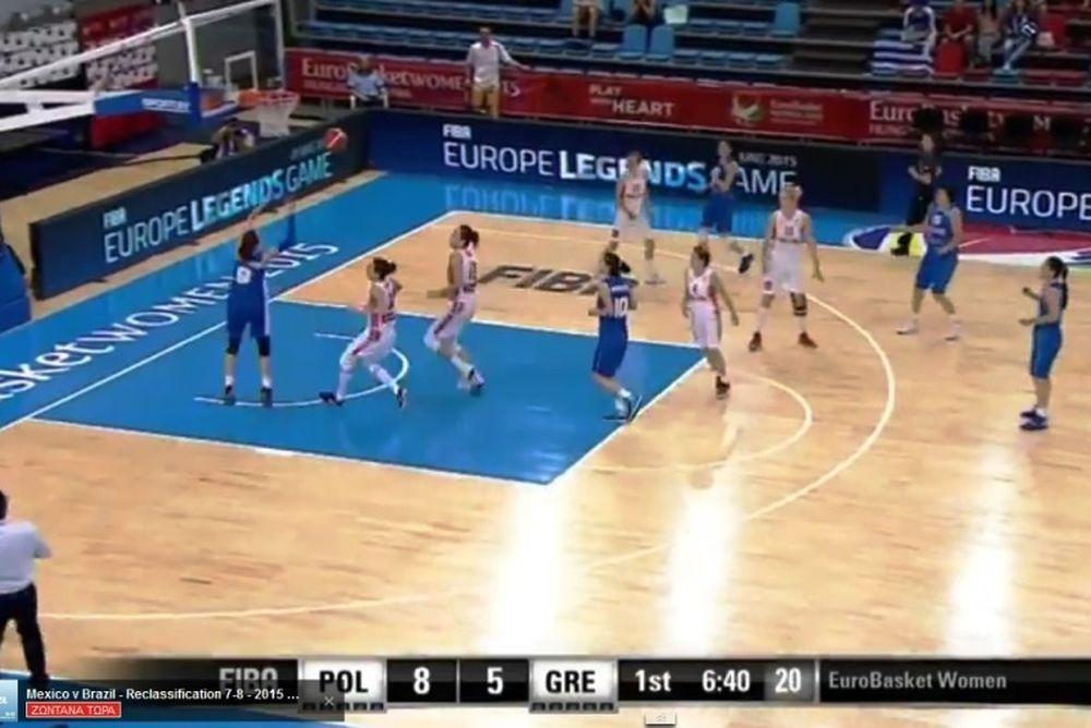 Θύμισαν WNBA οι Καλτσίδου και Σπανού (video)