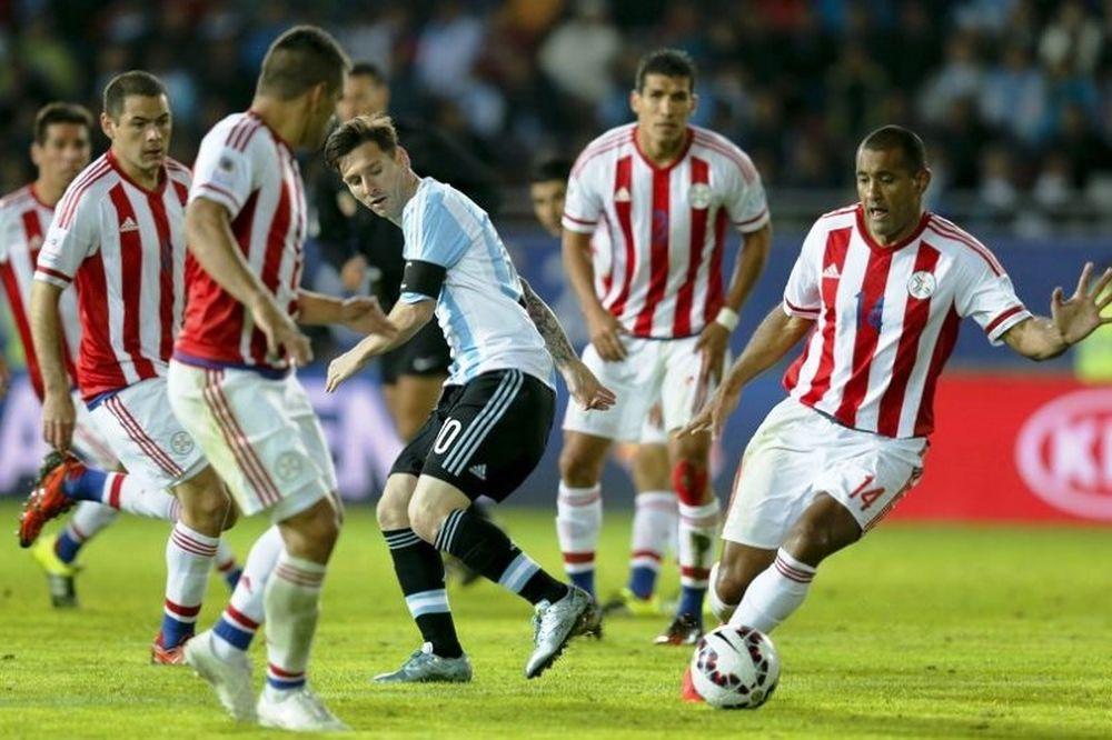 Επική ανατροπή από Παραγουάη, 2-2 με Αργεντινή (videos)