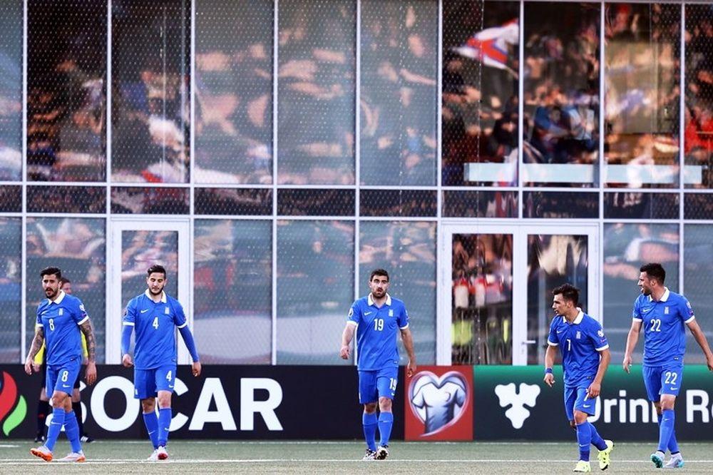 Νησιά Φερόε – Ελλάδα 2-1: Τα γκολ του αγώνα (video)