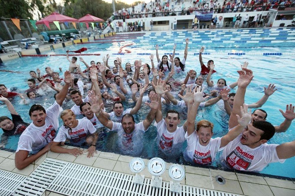 Κολύμβηση: Πρωτάθλημα ο Ολυμπιακός, ιστορικός… Γιαννιώτης