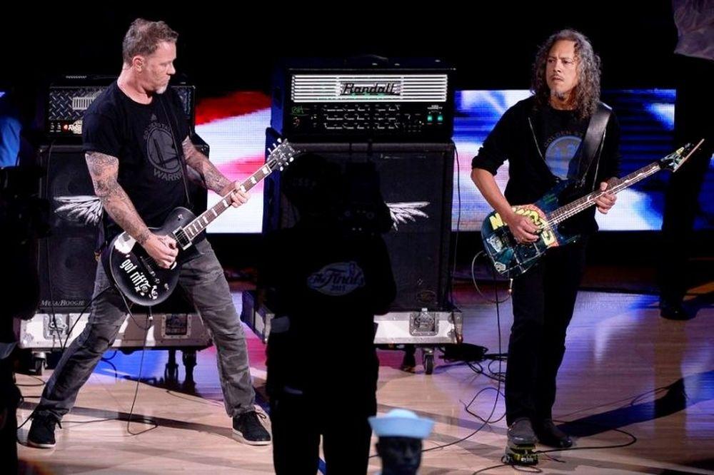 Με Metallica ο τελικός του NBA! (photos+video)