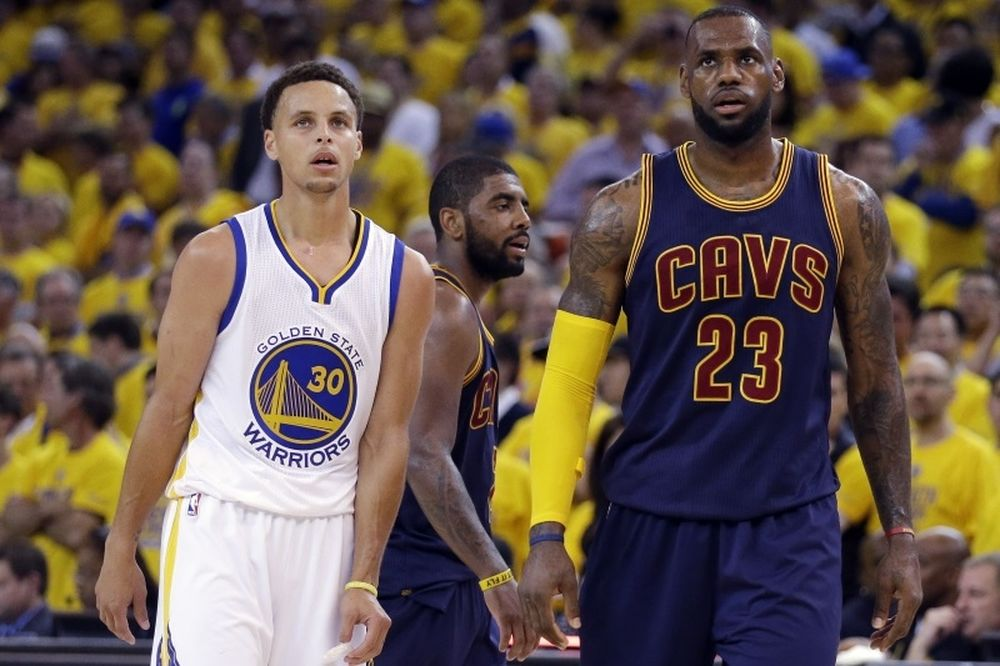 NBA: Κάρι-Λεμπρόν 1-1 στο Top 5 (video)