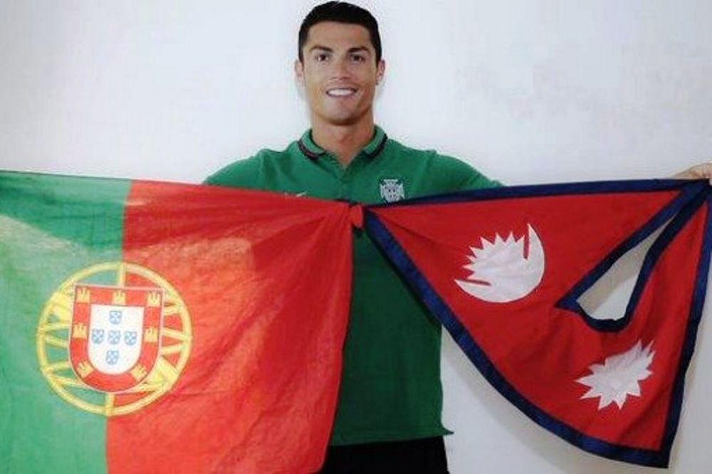 Συνεχίζει την καμπάνια για Νεπάλ ο Ρονάλντο!
