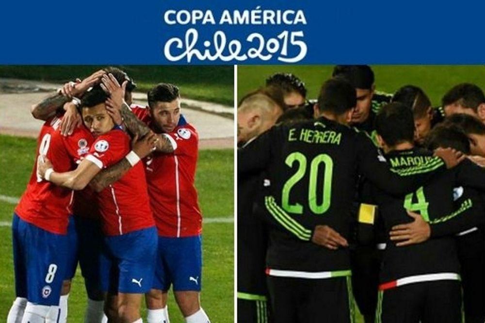 Copa America: Ρεσιτάλ τερμάτων και 3-3 στο Χιλή-Μεξικό! (video)