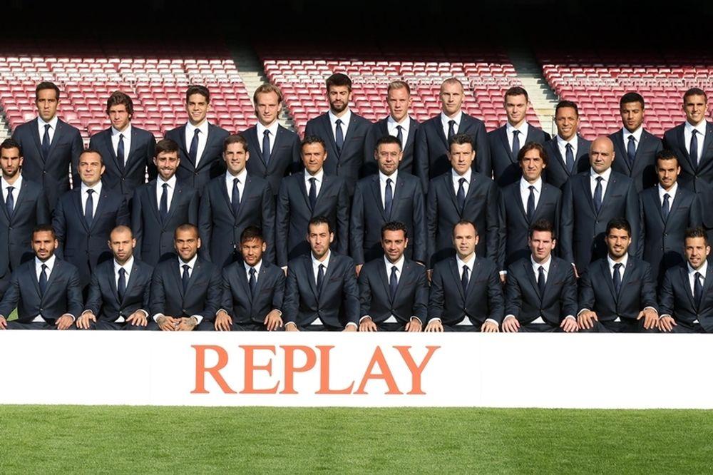 Η Replay υπερήφανος χορηγός της FC Barcelona (photos)