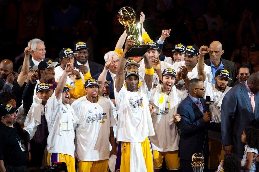Ο… τελευταίος χορός των Lakers (photos&videos)