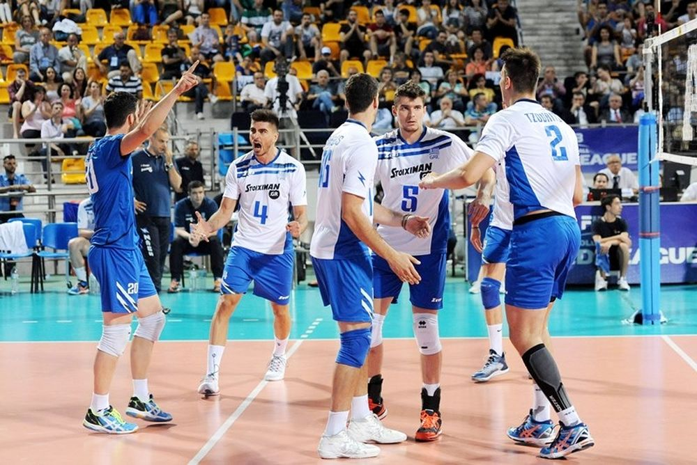 World League: Χτυπάει… πρωτιά και πρόκριση η Ελλάδα