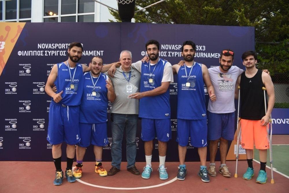 Λάμψη πρωταθλητών στο «2nd Novasports 3X3 Φίλιππος Συρίγος Tournament»! (photos)