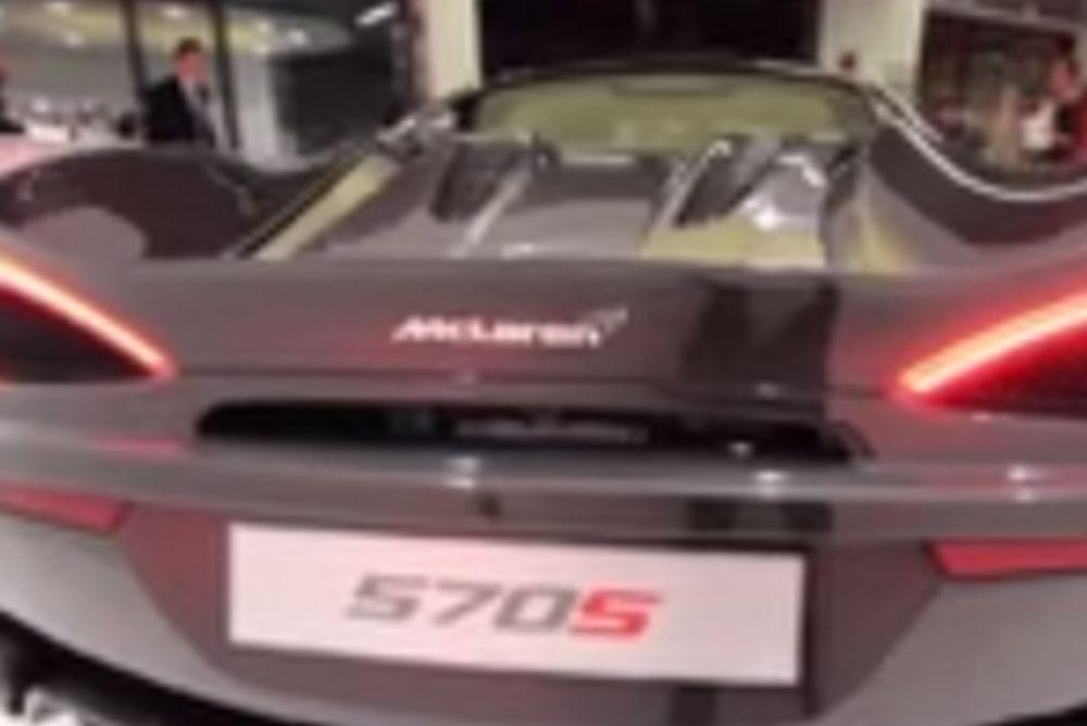 Η νέα McLaren τρελαίνει κόσμο! Ακούστε τον ήχο της μηχανής (video)