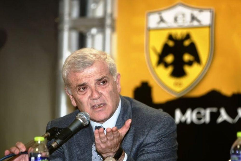 ΑΕΚ: Κατέθεσε αγωγή στους δικαστές της ΕΠΟ ο Μελισσανίδης