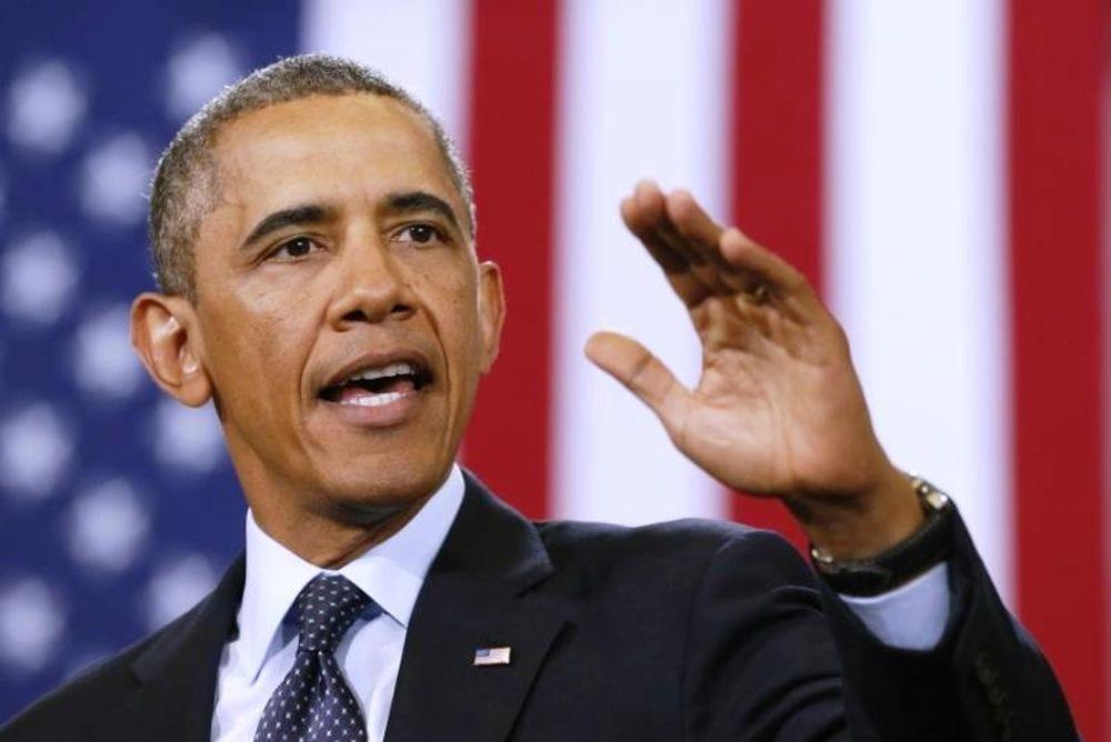 Ο Ομπάμα βάζει στη… θέση της ταραξία (video)
