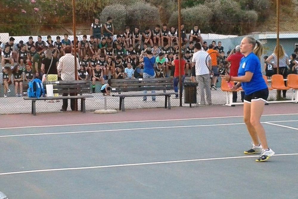 Εξαιρετικά παιχνίδια στο N'JOY UNI-Tennis Athens Open!