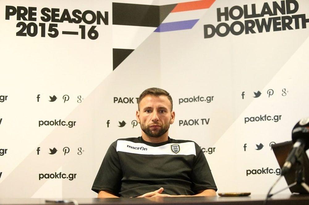 Ρατς: «Θέλω τίτλους με τον ΠΑΟΚ»