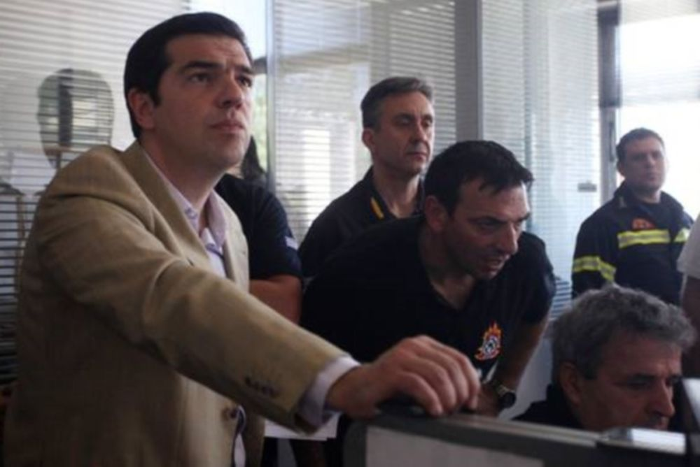 Στρατό και αεροπορία στέλνει ο Τσίπρας σε Καρέα, Λακωνία