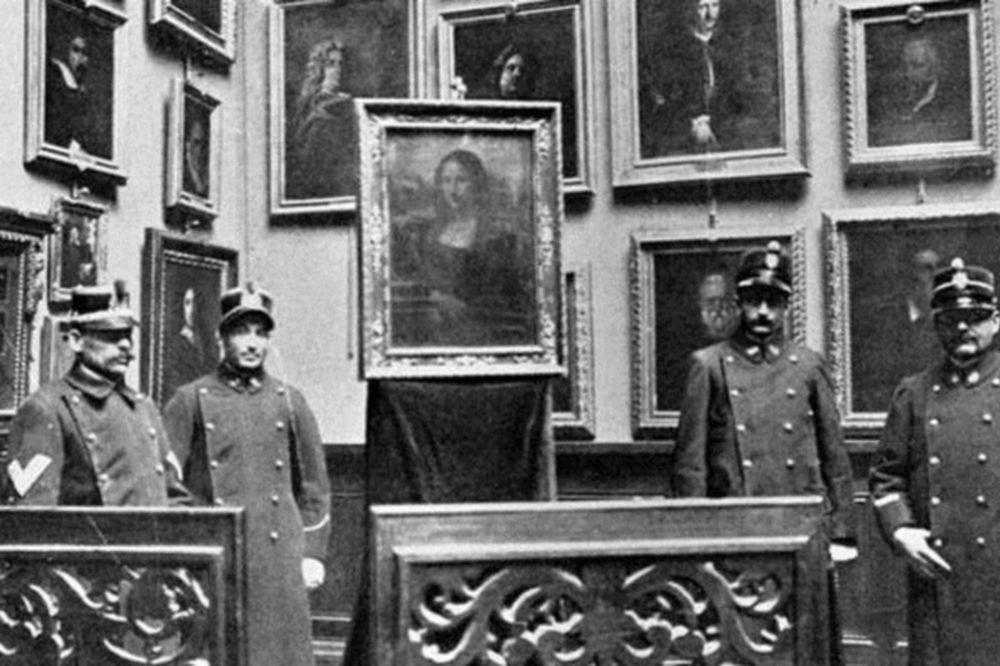 Σαν σήμερα το 1911 κλάπηκε η «Μόνα Λίζα» από το μουσείο του Λούβρου