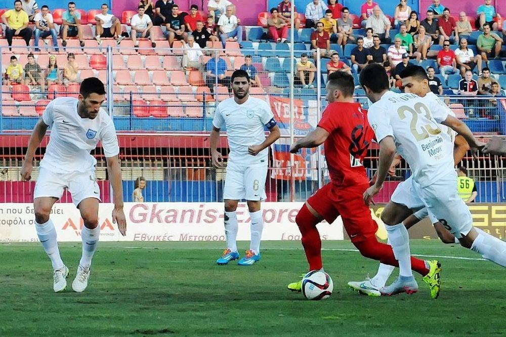 Βέροια - ΠΑΣ Γιάννινα 1-1: Οι καλύτερες φάσεις και τα γκολ (video)