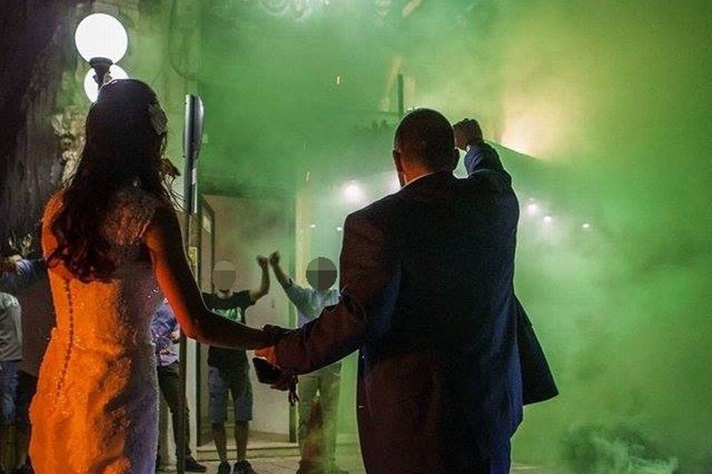 Ο πιο… πράσινος γάμος! (photos)