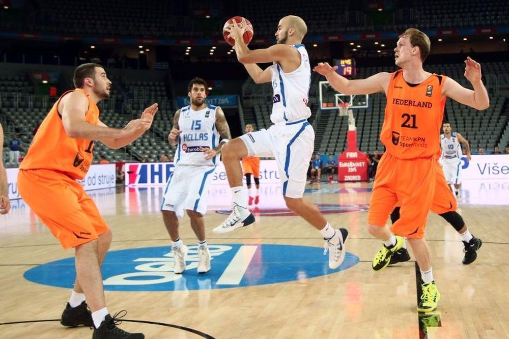 Ελλάδα – Ολλανδία 68-65: Τα highlights του αγώνα (video)
