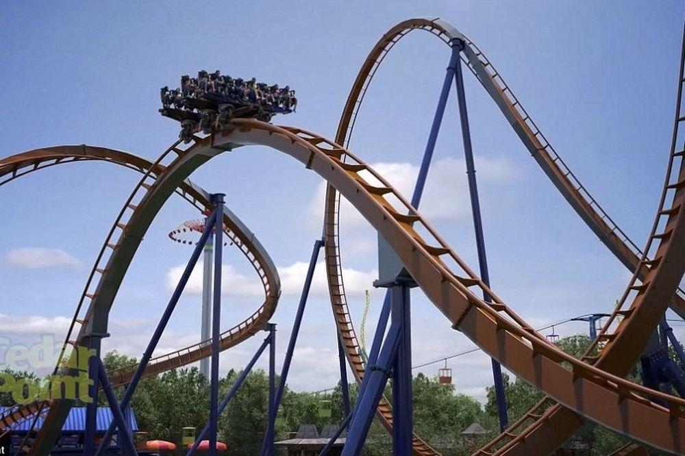 Το πιο τρομακτικό rollercoaster! (video)