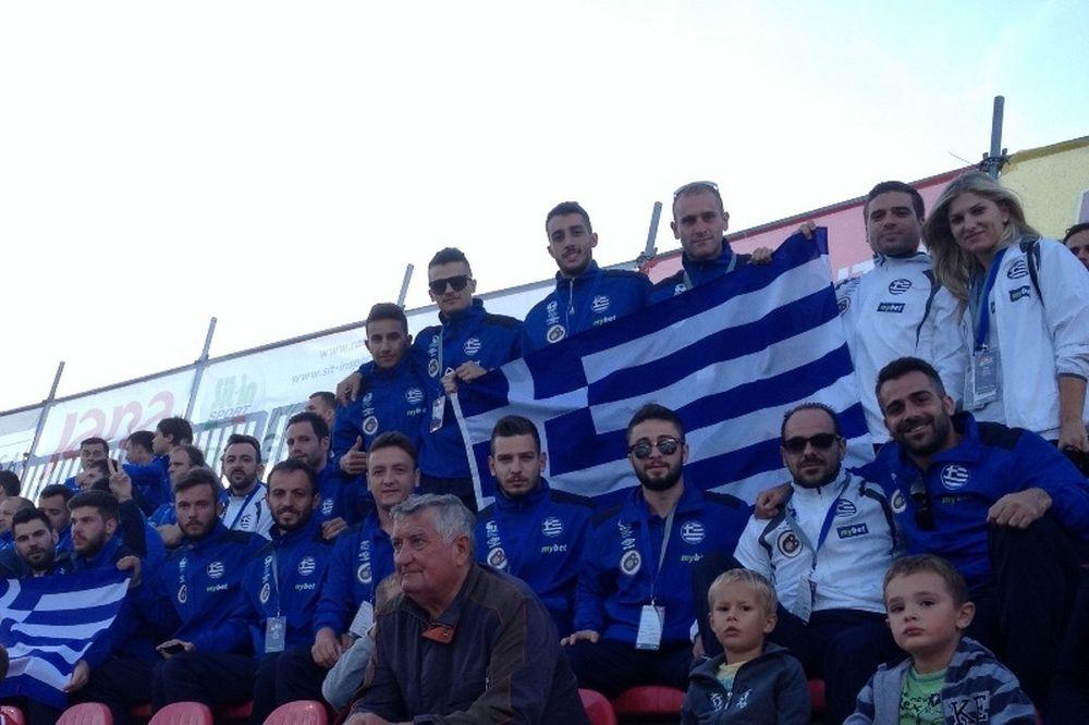 H Ελλάδα μπαίνει στην πρεμιέρα του miniEURO 2015 με στόχο τη νίκη!
