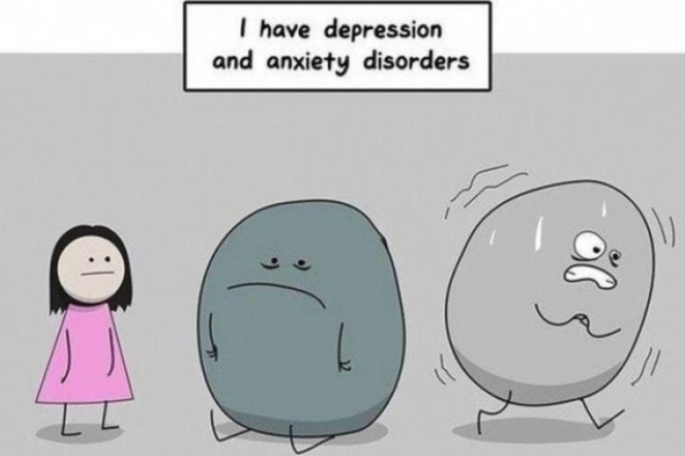Το άγχος και η κατάθλιψη μέσα από ένα συγκλονιστικό κόμικ