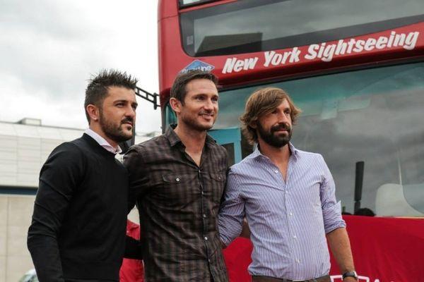 Μανία με Πίρλο, Βίγια και Λάμπαρντ στη Νέα Υόρκη! (photos)