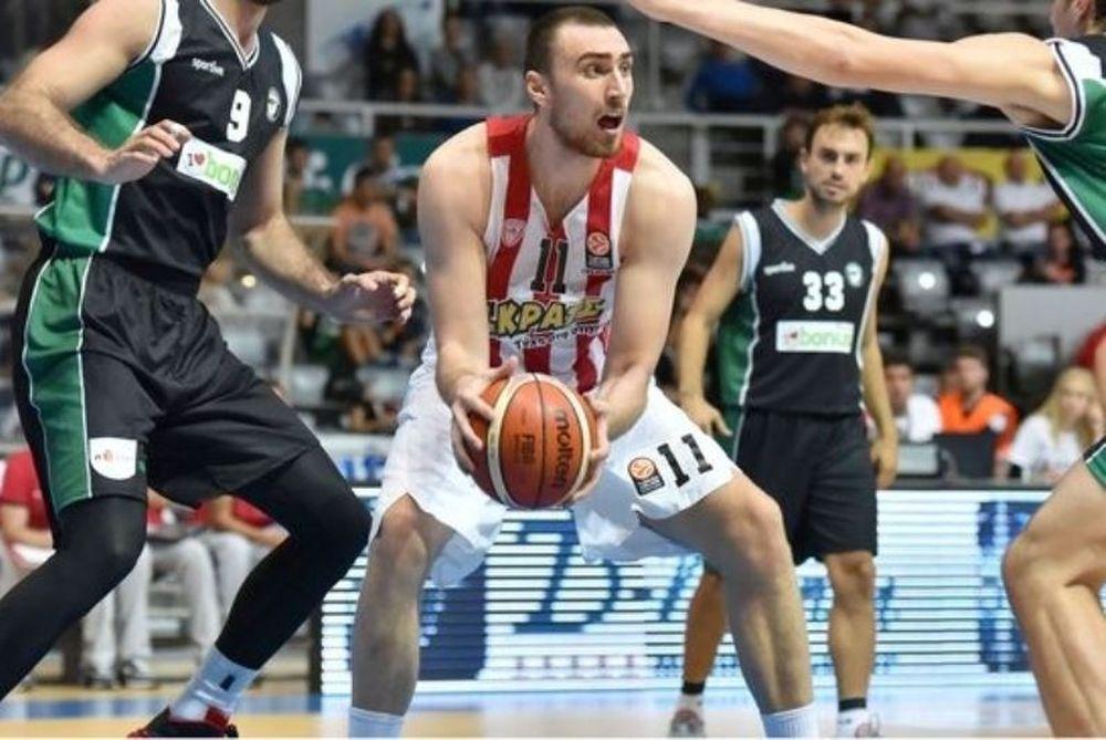 Νίκη για Ολυμπιακό στο ντεμπούτο Μιλουτίνοφ